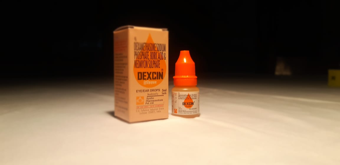 DEXCIN Eye & Ear Drops